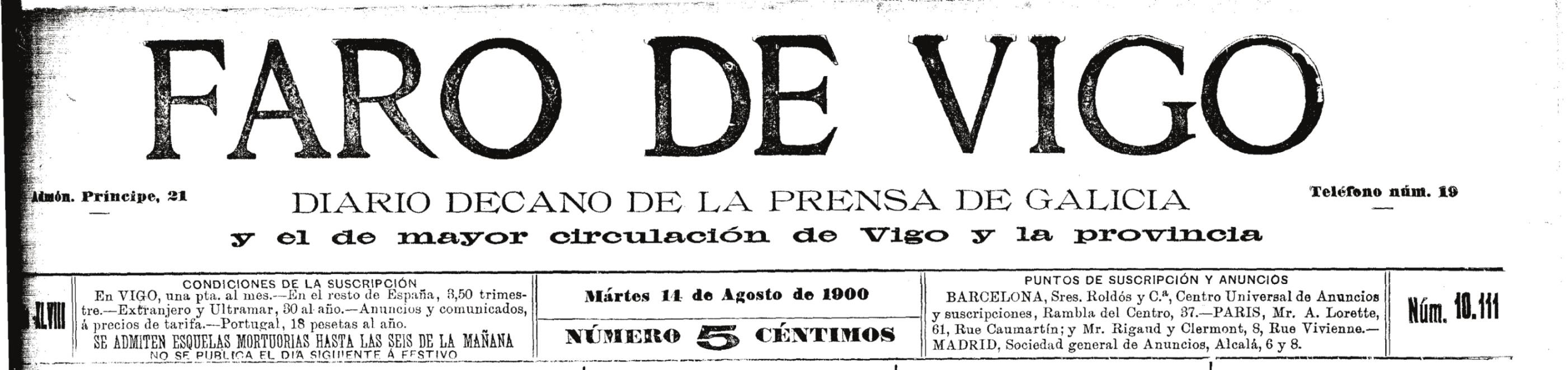 historia da cidade de Vigo